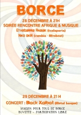 Evenements interculturels à Borce