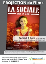 Projection du film La Sociale